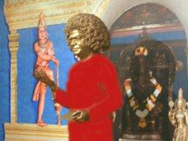 Лик Скульптуры Бхагавана Шри Сатья Саи Бабы